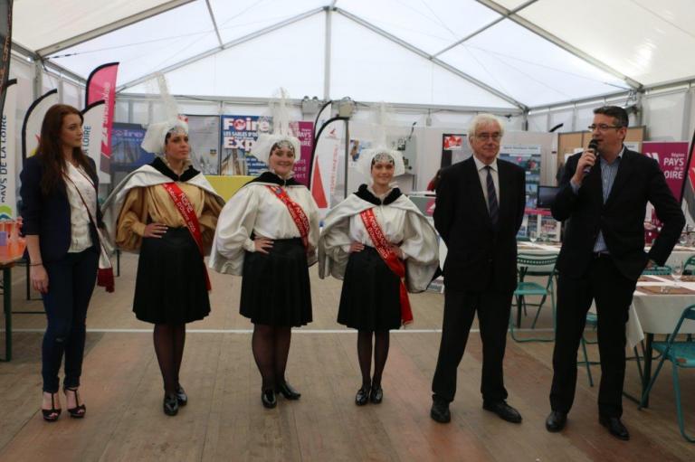 Inauguration de la foire expo