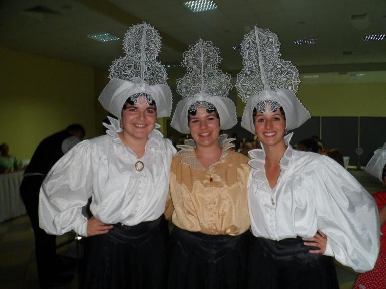 Déplacement en Bosnie avec le groupe folklorique Le Nouch