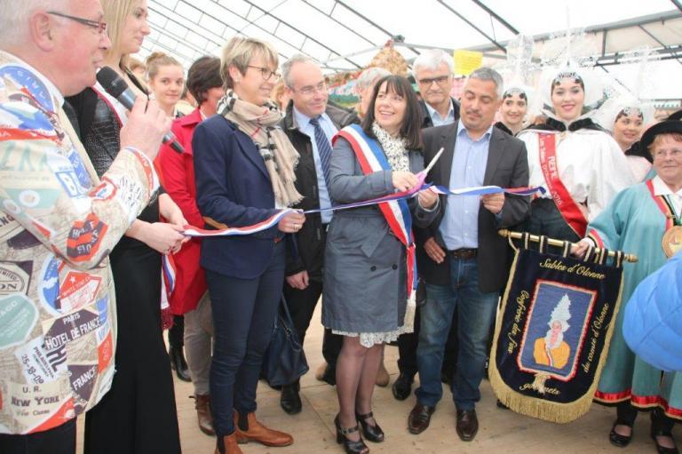 Inauguration de la Foire-expo