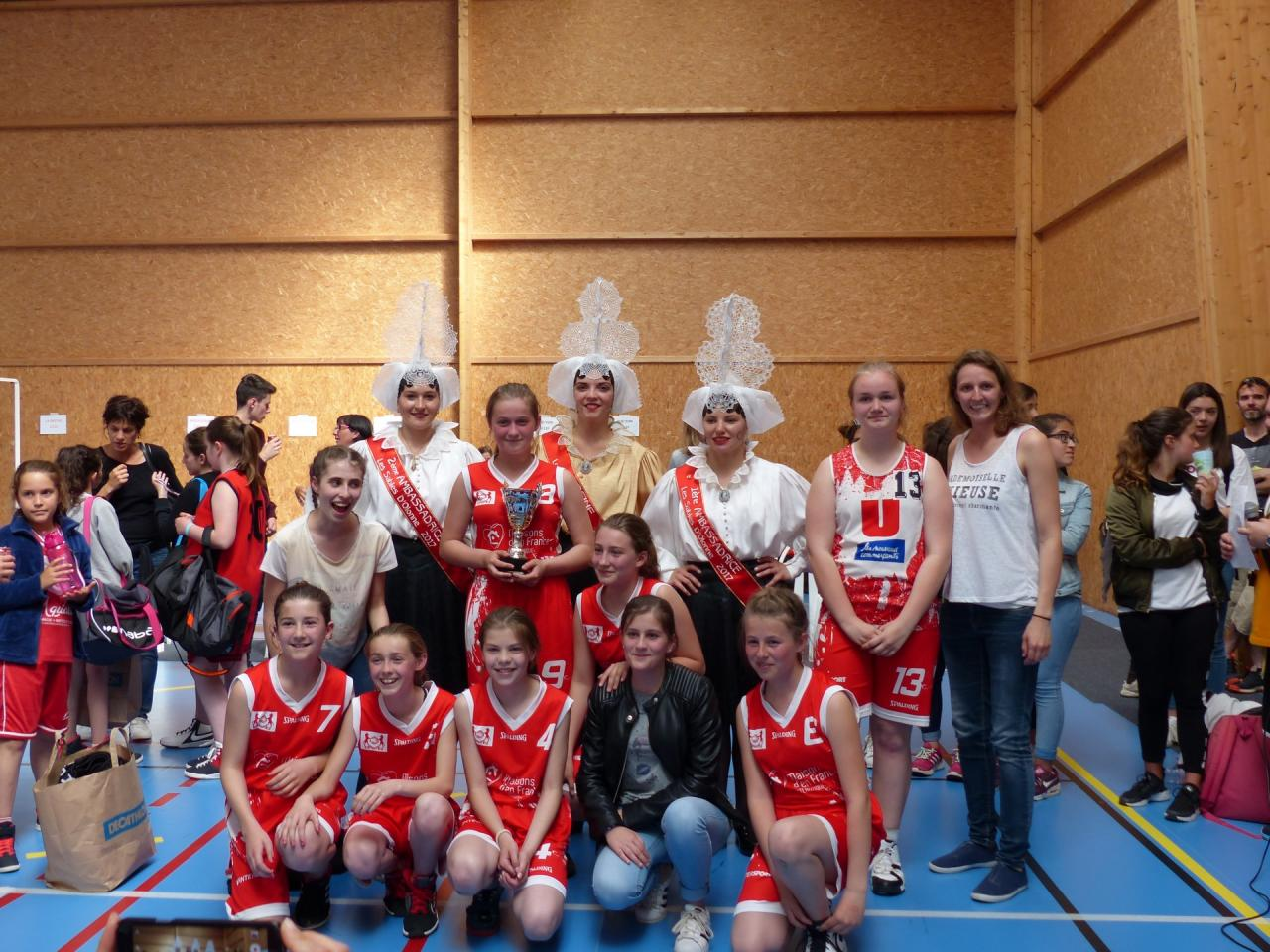 Match de basket à Grosbreuil - 13 mai