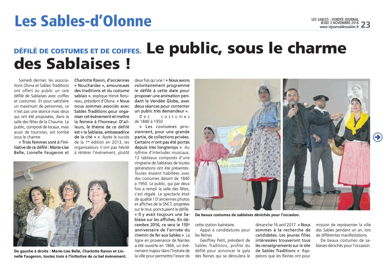 Article defile coiffes sablaises 03 11 16