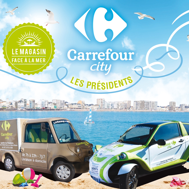 Carrefour city les presidents site