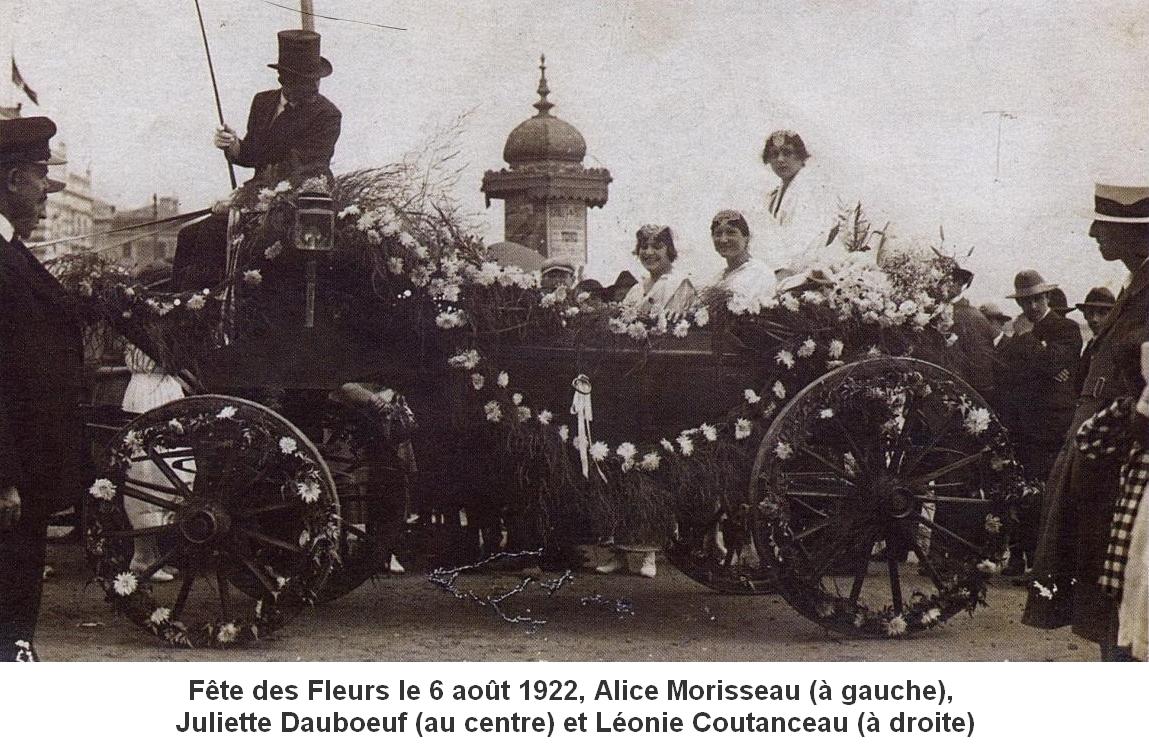 1922 Léonie Coutanceau - Juliette Dauboeuf - Alice Morisseau 2