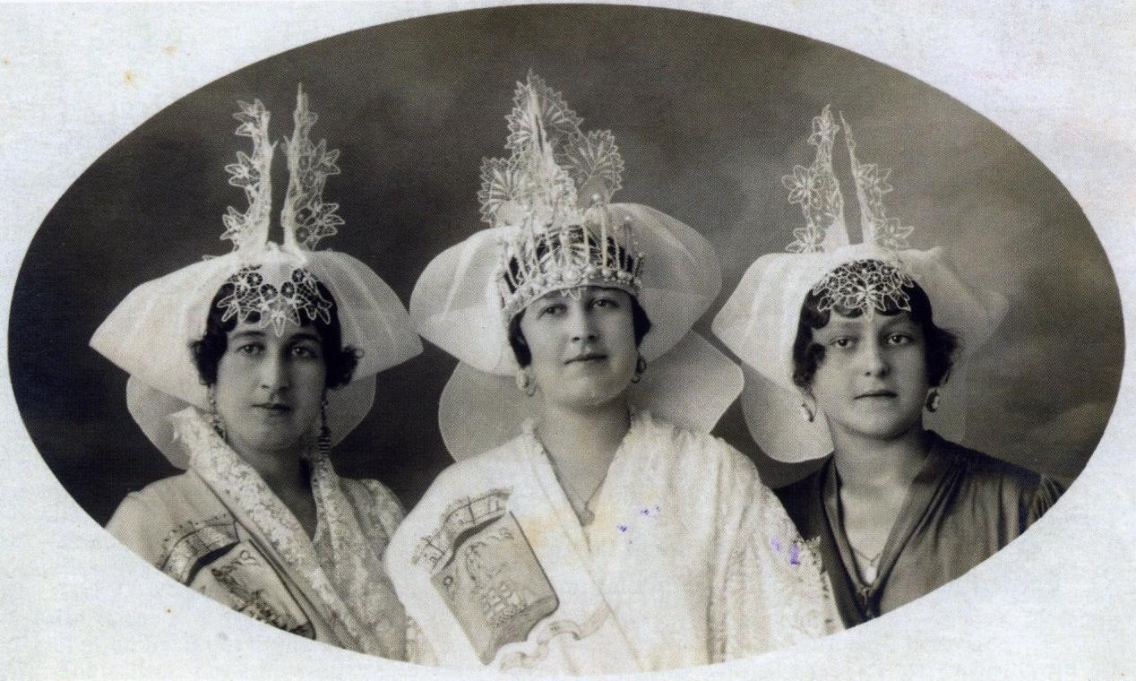 1922 Léonie Coutanceau - Juliette Dauboeuf - Alice Morisseau