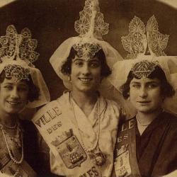 1924 Suzanne Dappel Voisin - Florence Blanchard - Fernande Fradet