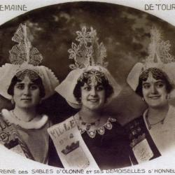 1926 Eliane Roger - Jeanne Couton - Andrée Chabot