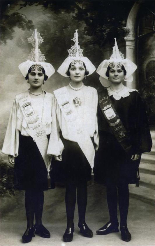 1930 Marie-Louise Boizeau - Renée Grimaud - Marie-Louise Archambeau