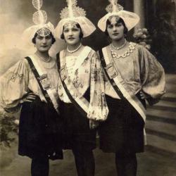 1931 Marie-Louise Boizeau - Renée Grimaud - Emilienne Bonnin
