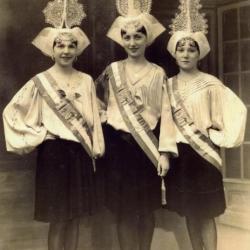1936 Carmelle Chailloux - Jeannette Rotillon - Solange Ledoux